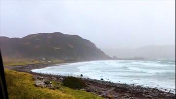 Storm Dennis invades Scotland