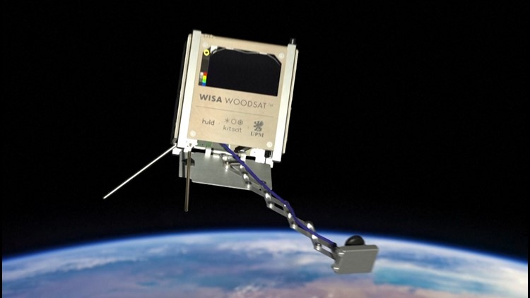 Wood in Space? Finnish Company Set to Launch Wooden Satellite Into Space!