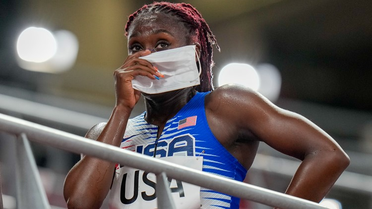 US disqualified after winning mixed 4x400 relay heat