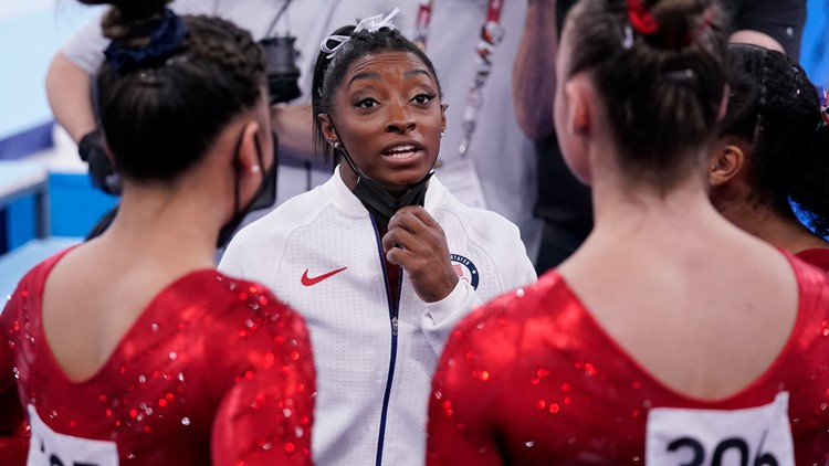 Simone Biles withdraws from Olympics individual all-around competition