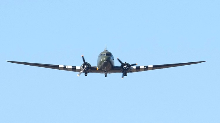 WWII plane flyover honors Captain Tom Moore at funeral