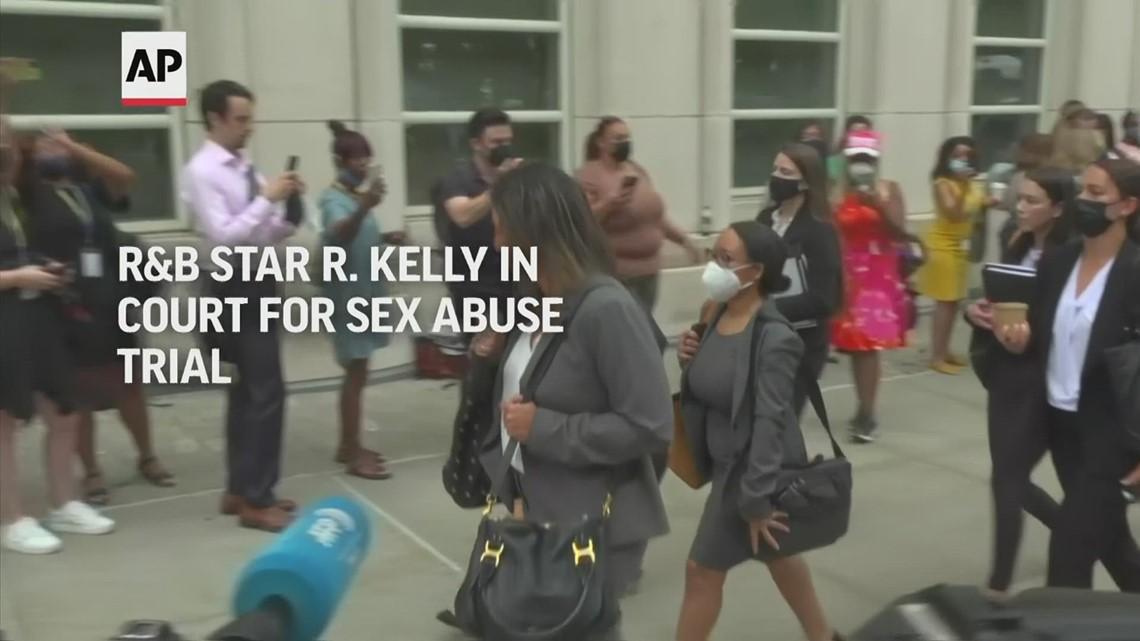 R Kelly trial begins in New York