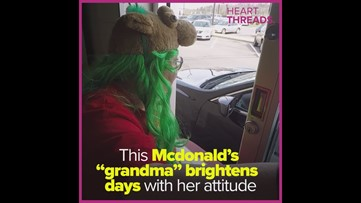 "McDonald's ""Grandma"" brings joy to customers and coworkers"