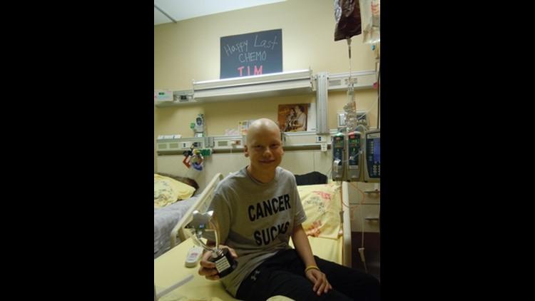 Tim Vorenkamp after chemo