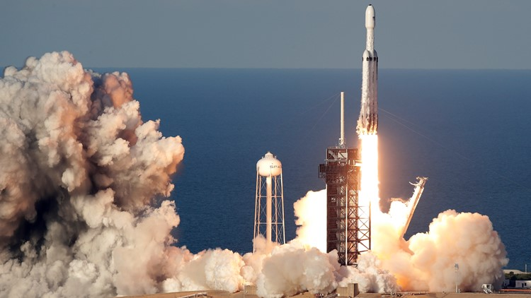 SpaceX Launch takeoff April 11 2019