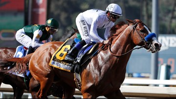 Report: Justify failed drug test before 2018 Triple Crown run