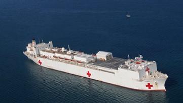 U.S. Navy hospital ship heading to NYC for coronavirus aid