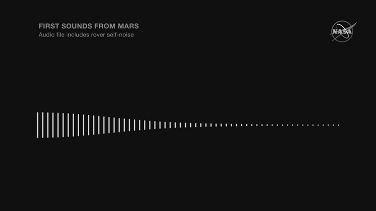 LISTEN: First sounds captured on surface of Mars