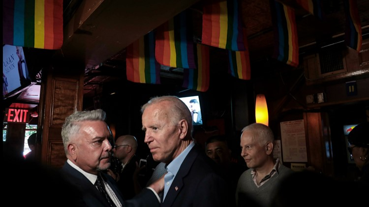 Biden visits Stonewall ahead of 50th anniversary of uprising