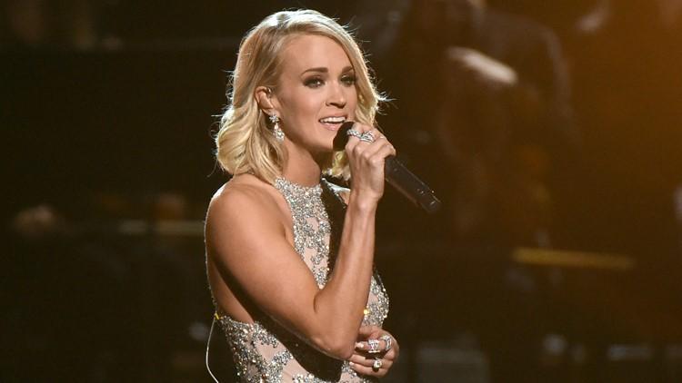 50th Annual CMA Awards - Carrie Underwood AP