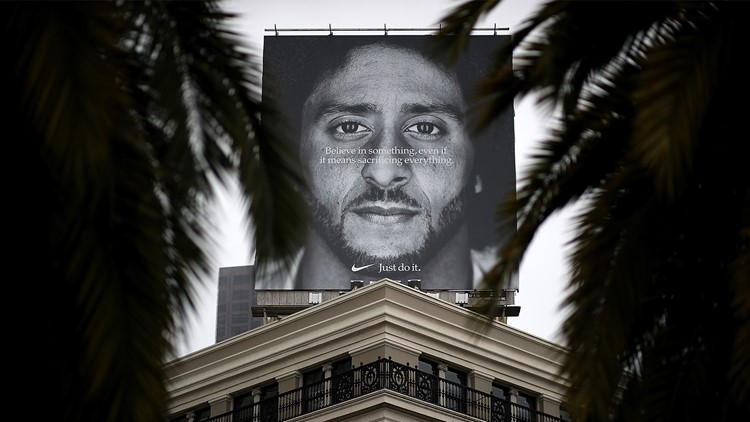 Colin Kaepernick Nike ad wins Emmy for outstanding commercial