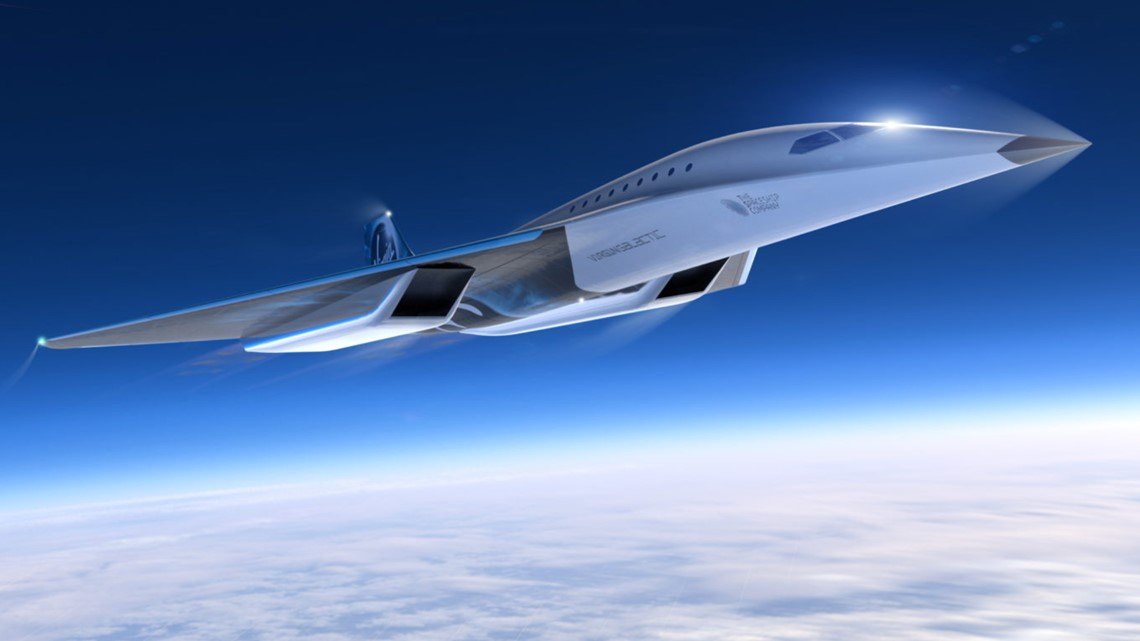 Virgin Galactic's Mach 3 supersonic flight hopes to connect New York to London in 2 hours