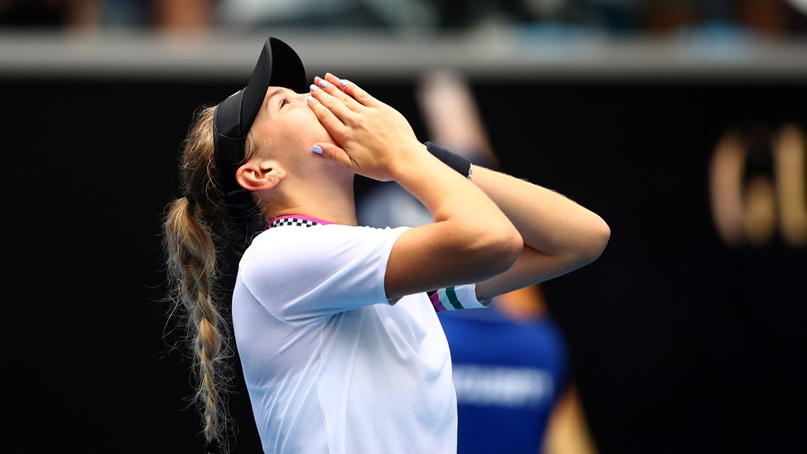 17-year-old from New Jersey wins at Australian Open