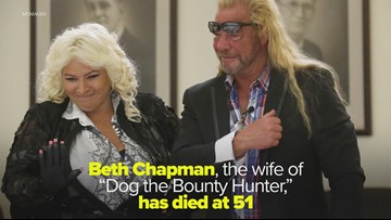 UPDATE: Beth Chapman, wife of 'Dog the Bounty Hunter,' dies