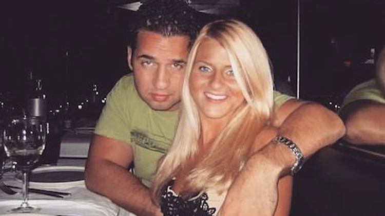 Young Mike and Lauren Sorrentino