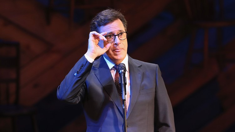 Stephen Colbert will broadcast 'Late Show' live on Election