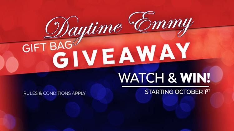 Enter the Daily Blast LIVE Emmy Awards gift bag giveaway