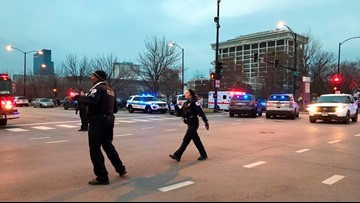 Suspect dead, Chicago officer in critical condition after Mercy Hospital shooting