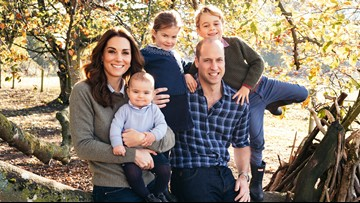 Royal family, including Meghan and Harry, share Christmas card photos