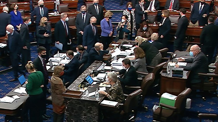 What's in the $1.9 trillion COVID-19 relief bill the Senate passed?