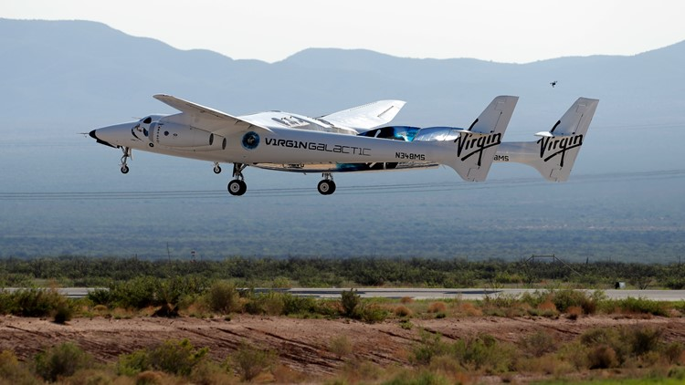 FAA bans Virgin Galactic launches while probing Branson trip
