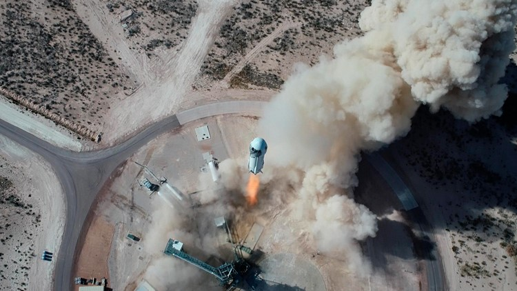 How to watch Blue Origin's first human flight