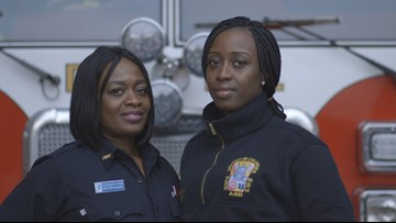 Mother and daughter battle fires — and stereotypes about firefighting