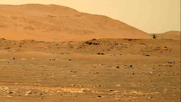 Listen to this: NASA releases audio of Mars helicopter in flight