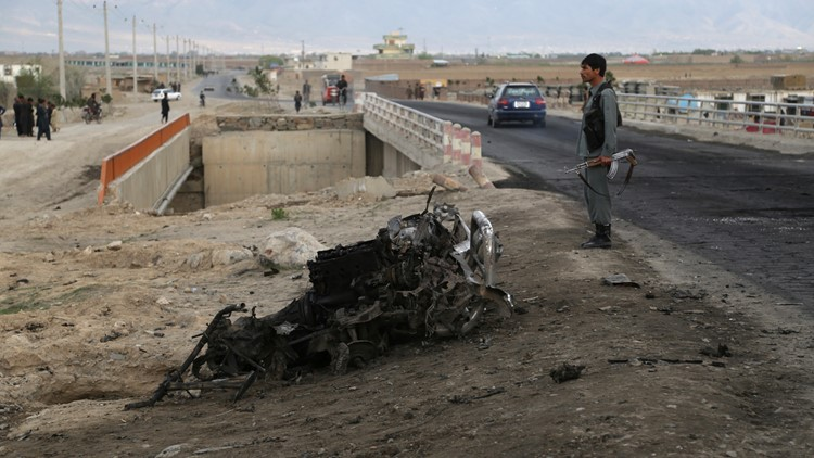 Afghanistan suicide attack day after AP April 2019