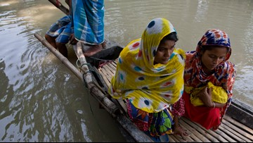 Monsoon flooding death toll climbs to 164 in South Asia