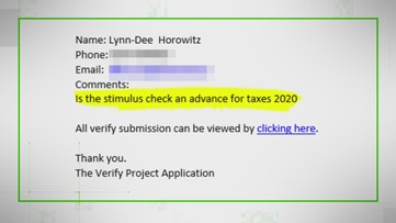 VERIFY: Do you have to pay back the 2020 stimulus checks? (Updated)