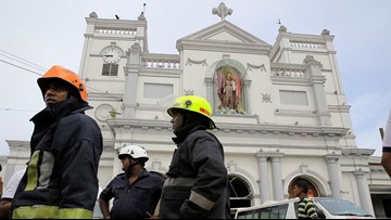 Explosions kill at least 207 in Sri Lanka on Easter Sunday