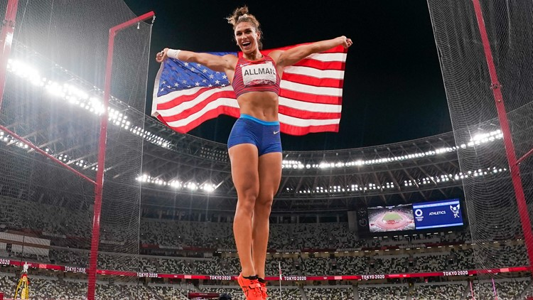 US wins first track and field gold of the Tokyo Games