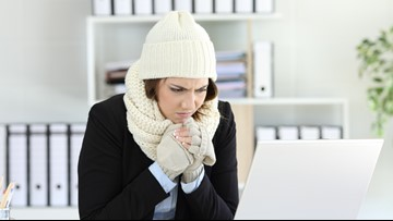 Ladies, you're not alone. Study finds women perform better in warmer offices.