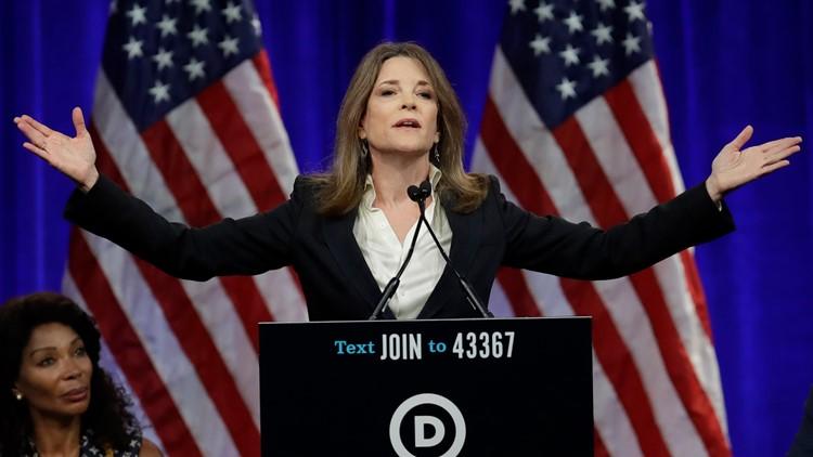 Election 2020 Marianne Williamson