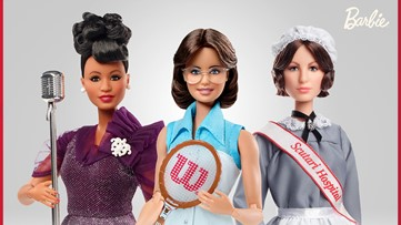 Billie Jean King, Ella Fitzgerald latest to join Barbie's inspiring women line