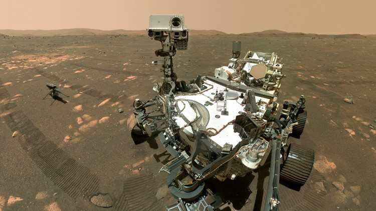 Mars rover comes up empty in 1st try at getting rock sample