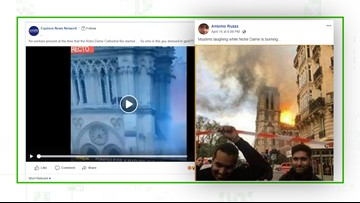 VERIFY: False claims try to tie the Notre Dame fire cause to Muslims