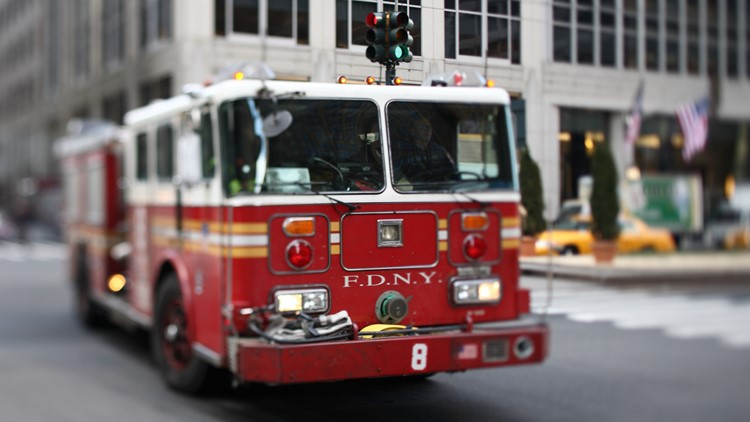 Digital billboard catches fire in NYC's Times Square