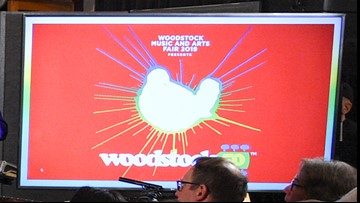Woodstock delays ticket sales for 50th anniversary festival