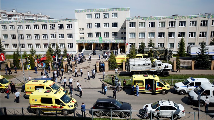Shooting in Russia kills 7 kids, 1 teacher; gunman arrested