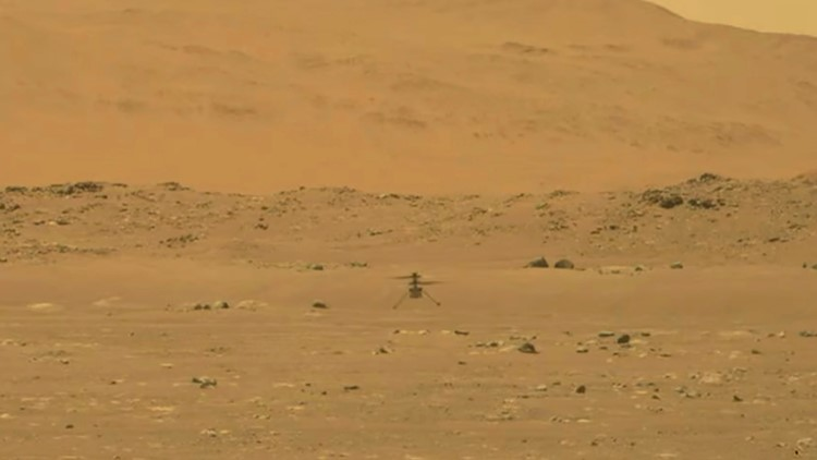 NASA Mars helicopter flight site named after Wright brothers