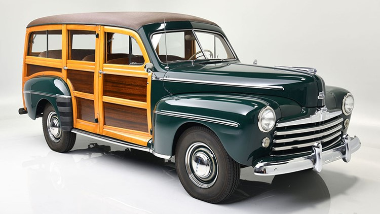 2 classic wagons from Ford family personal collection up for auction