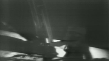 'One Small Step For Man': Restored NASA video of Apollo 11 moonwalk