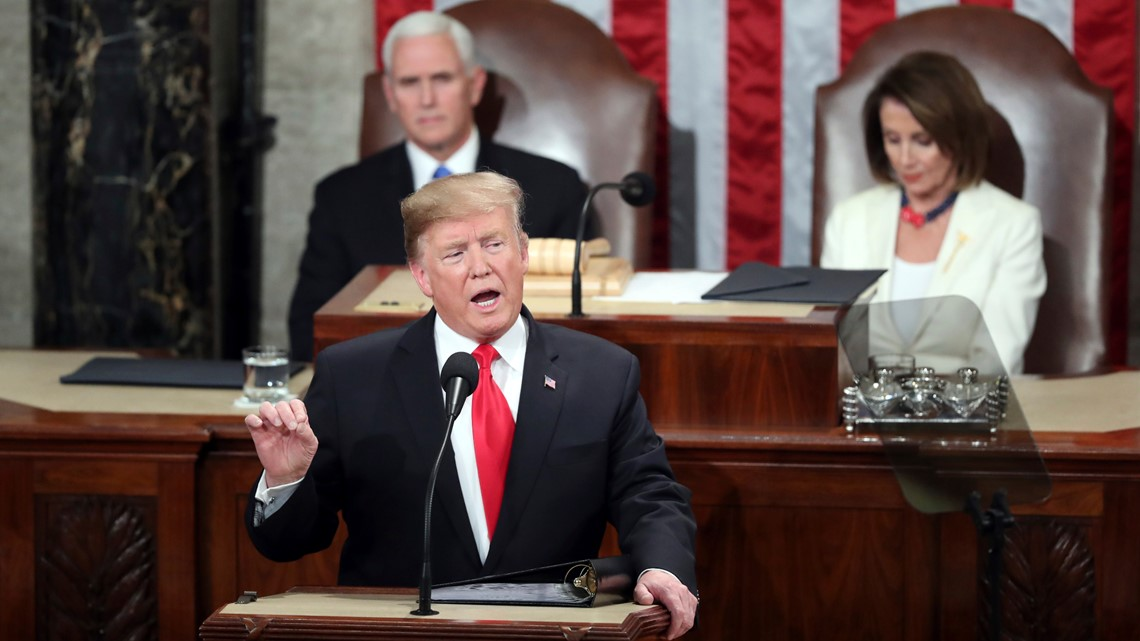 VERIFY: Fact-checking Trump's State of the Union, Abrams' response