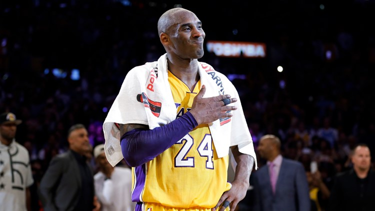 Kobe Bryant handprints, other memorabilia up for auction
