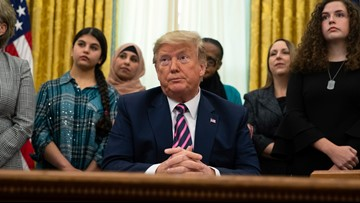 Trump announces 'guidance' on prayer in schools, religious groups