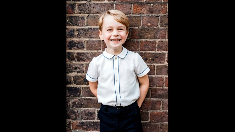 Britain's favorite little prince turns 5 on Sunday so it's time to review some of his cutest pictures.
