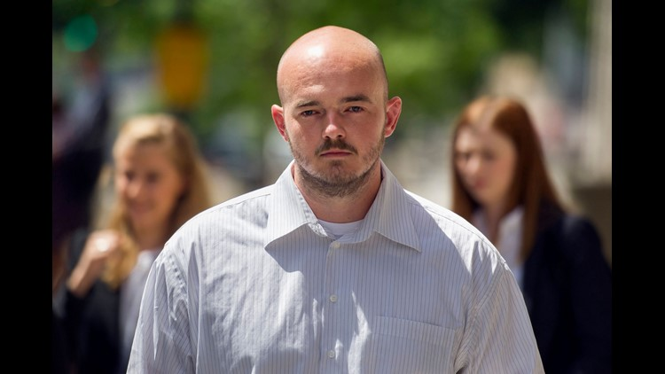 Nick Slatten's second trial ended in a hung jury, but prosecutors will retry him in October on charges that he instigated a mass shooting in Iraq.