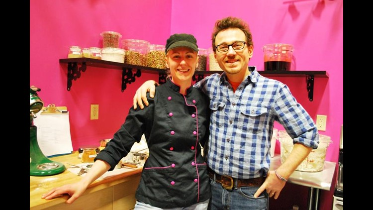 Partners in life and business, Liz and Dan Holtz, raise capital for their gluten free cookie company, Liz Lovely, locally